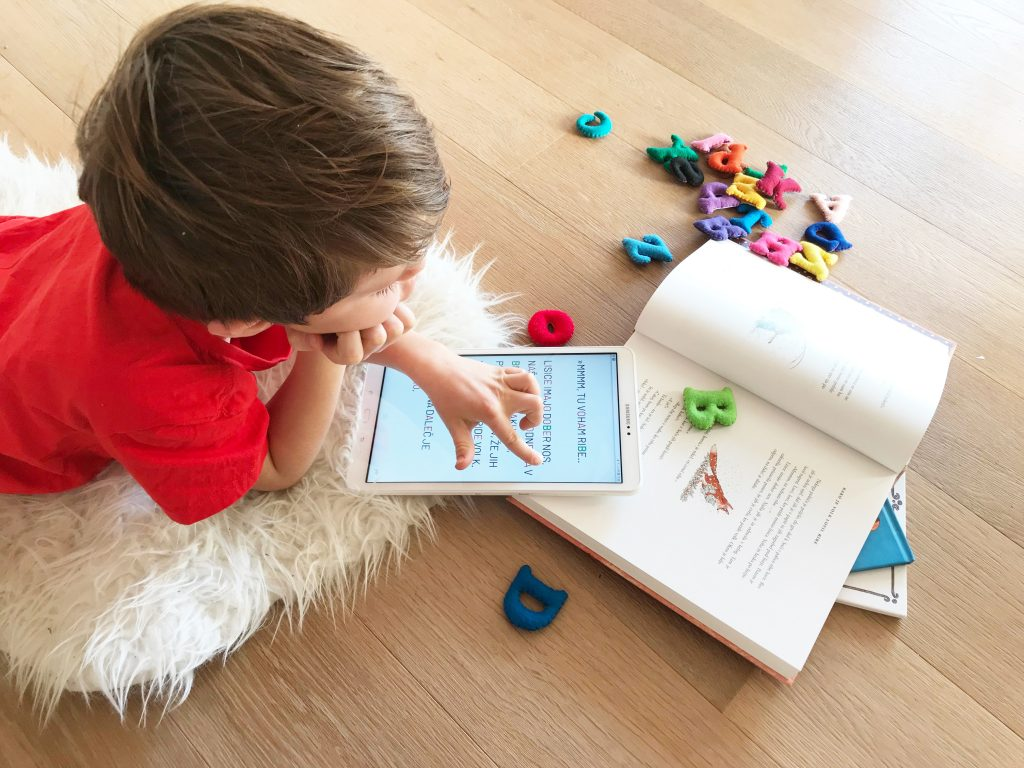 Kobi app for children with dyslexia and other reading difficulties.