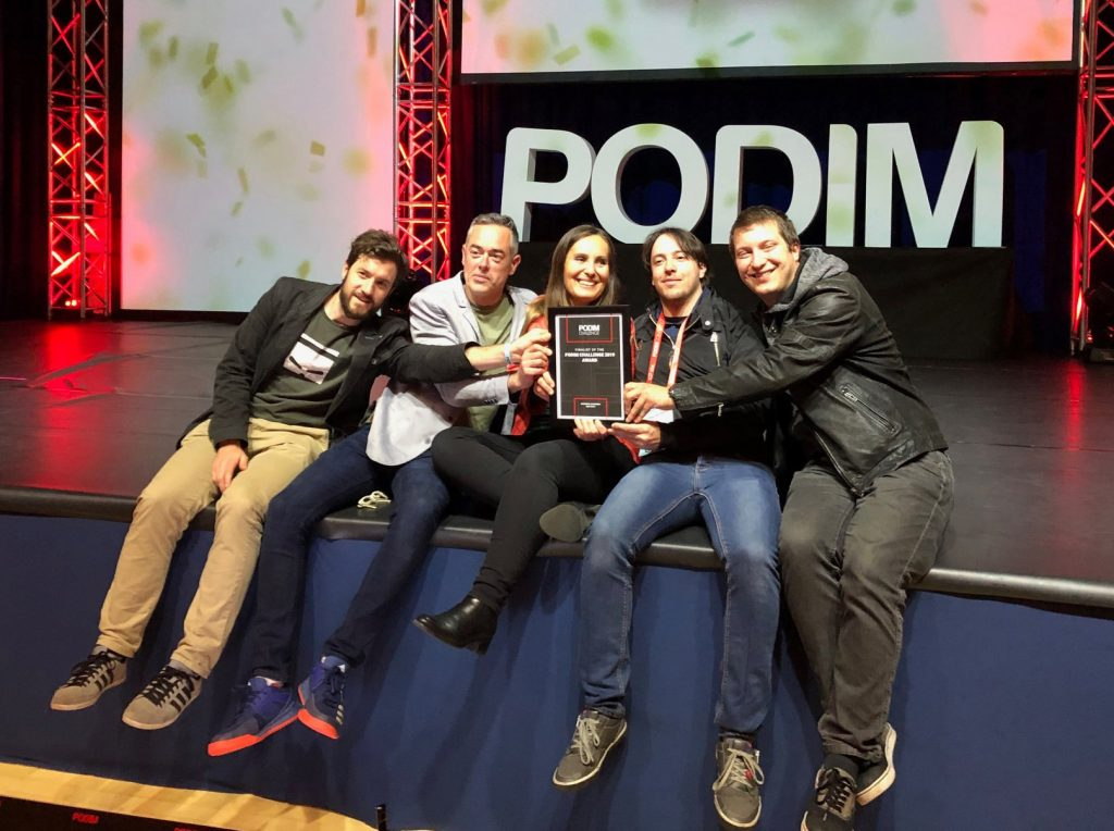 Hopalai team at last years' PODIM Challenge.